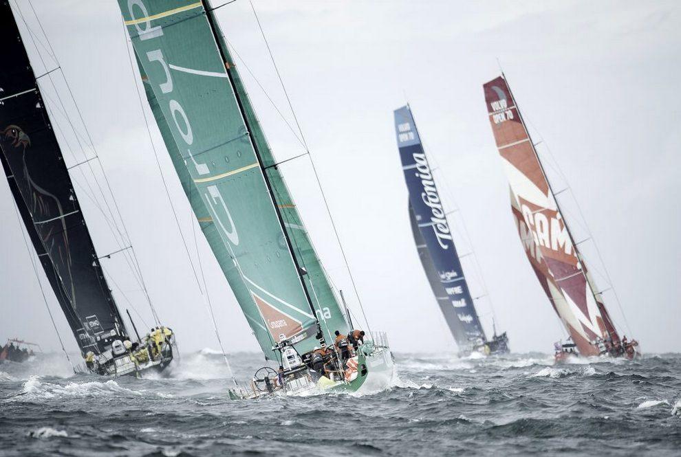 Кругосветная регата Volvo Ocean Race. Курс на Майами (10 фото)