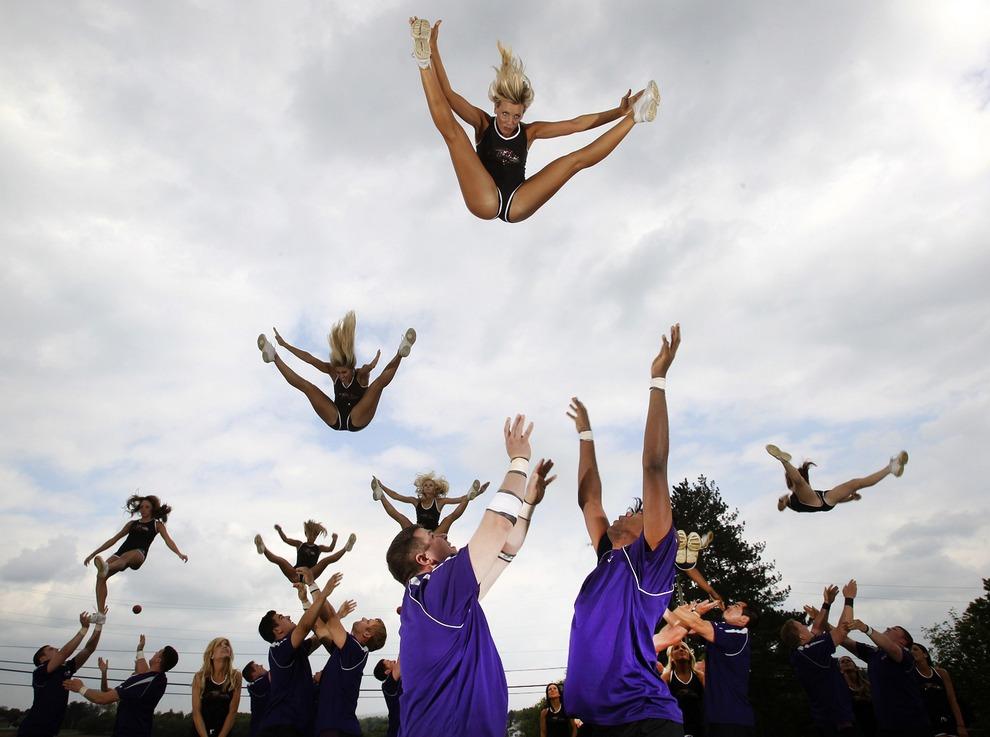 В небе правят Вороны: Черлидеры «Балтимор Рэйвенс» (15 фото + видео)