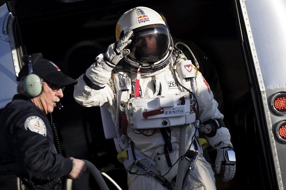 Генеральная репетиция перед «космическим прыжком» (10 фото)