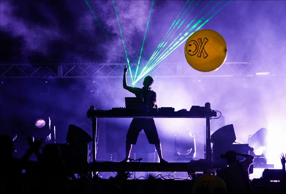 Ultra Music Festival: Каким он был в 2012 году (20 фото)