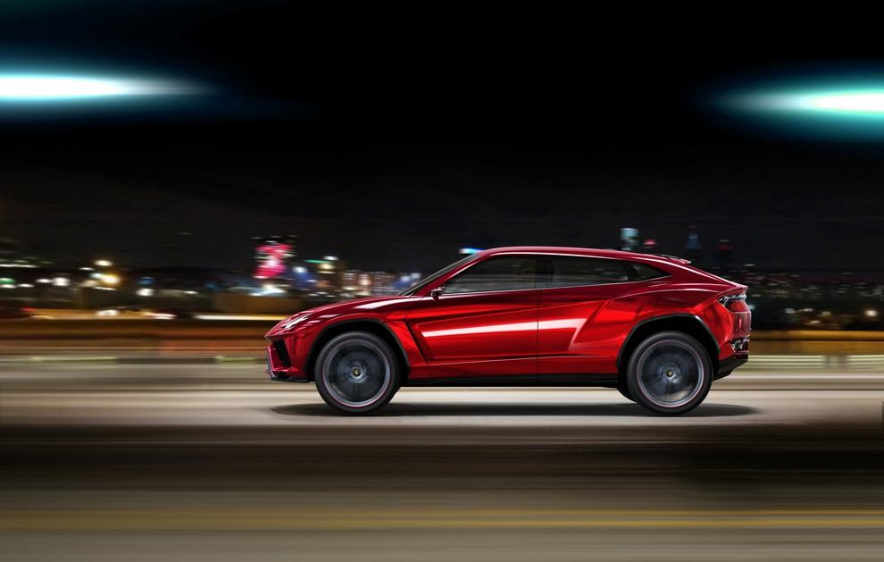 Внедорожник Lamborghini — что за зверь такой? (10 фото)