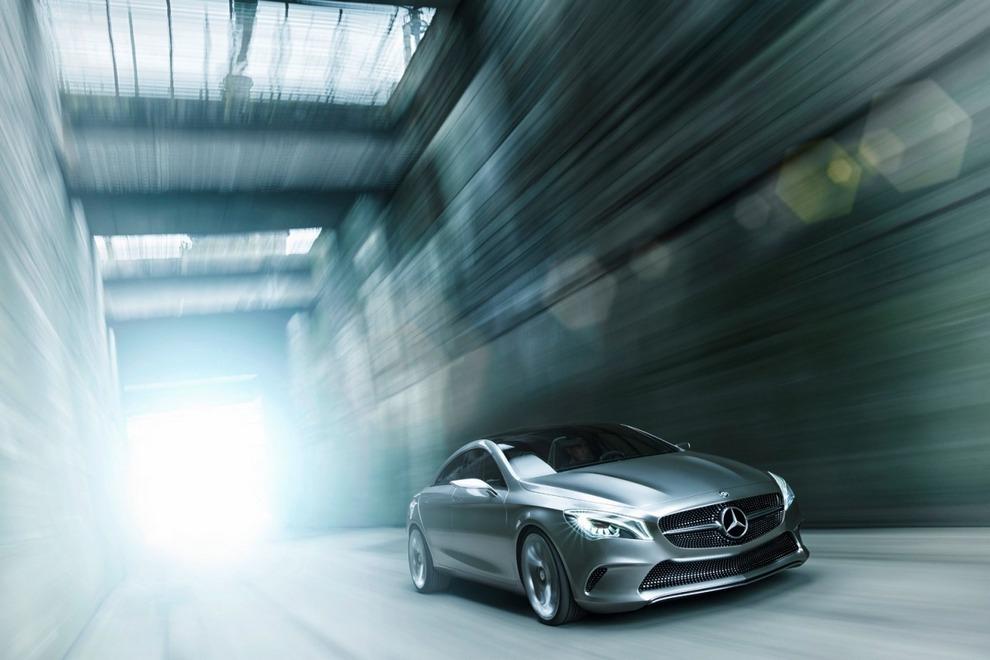 Алмазная колесница, или Mercedes-Benz CLA (10 фото)