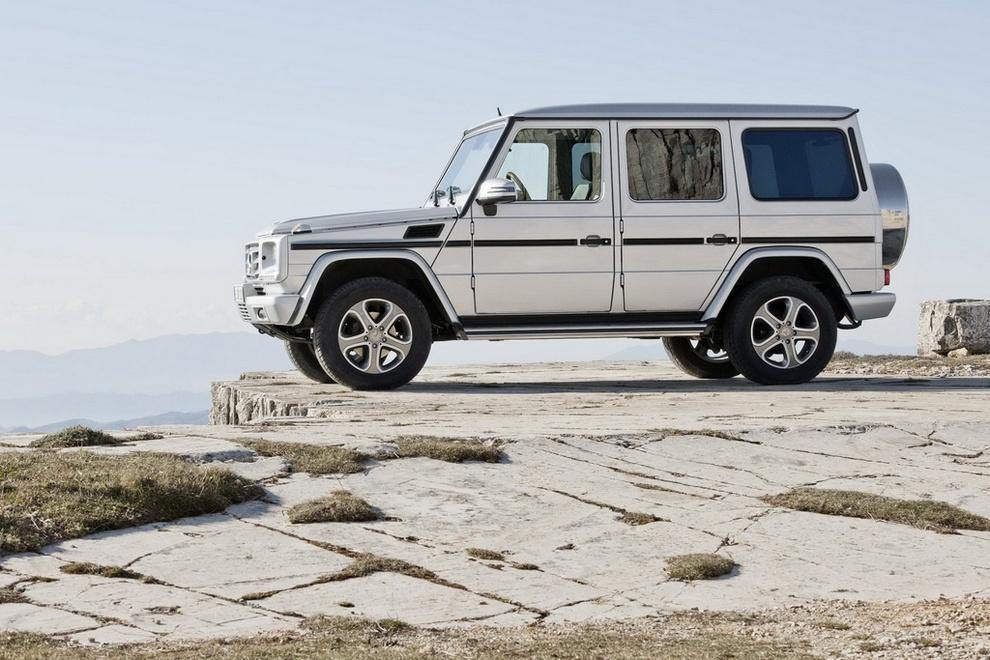 Mercedes-Benz смастерили новый «Гелик» (15 фото)
