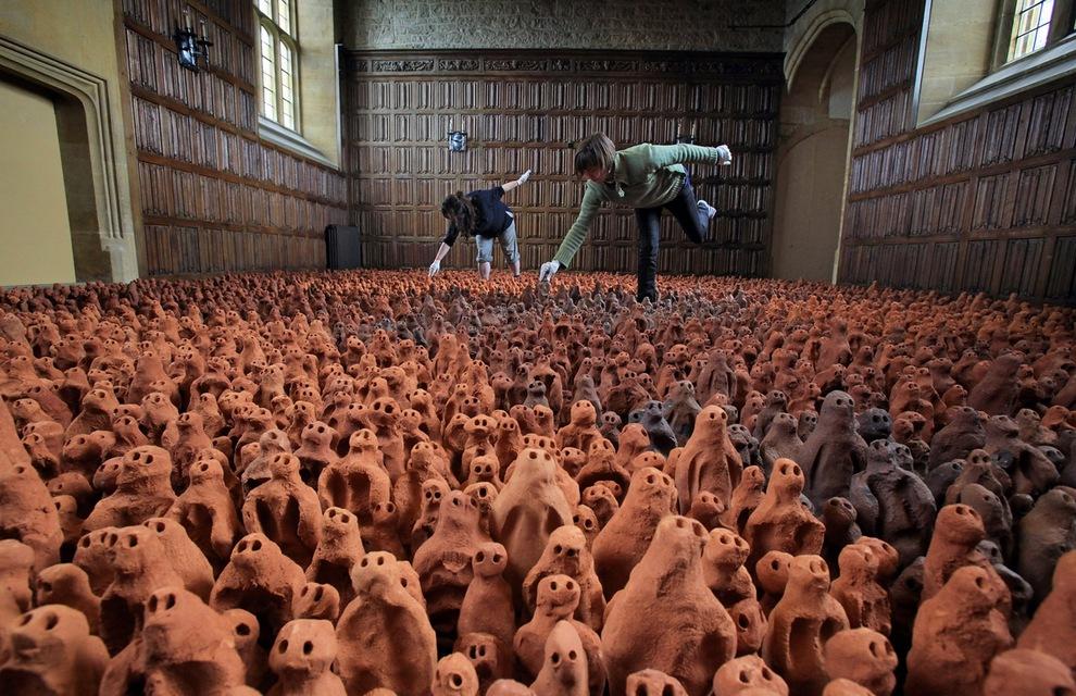 Энтони Гормли и его 40-тысячная армия (10 фото)