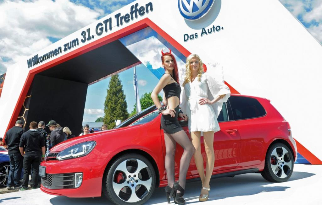 Wörthersee Show и спортивные Volkswagen (15 фото)