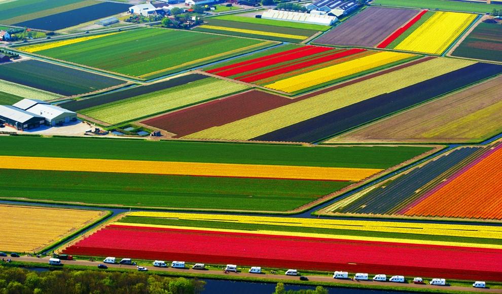 Нидерланды с воздуха (10 фото)