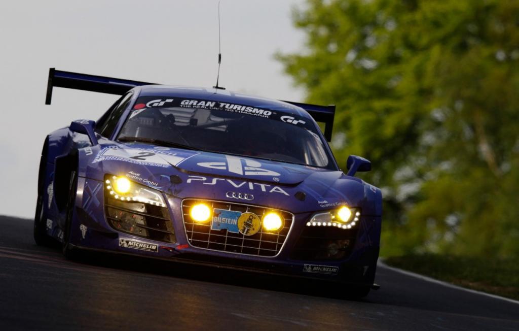 Триумф команды Audi R8 LMS Ultra. (Audi R8 LMS Ultra/2012 Nürburgring 24 Hour Race)