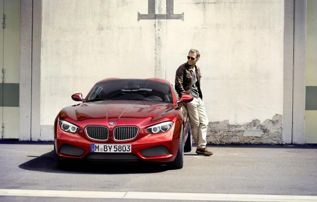 BMW Zagato Coupé: Красный цвет ему к лицу (25 фото)