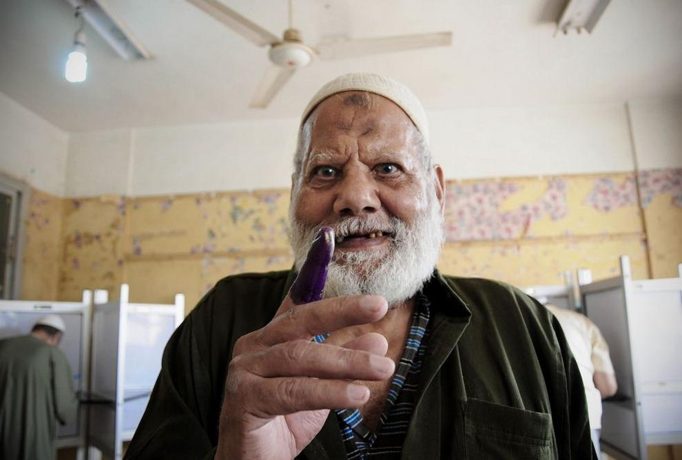 Египет: Счастливые выборы (15 фото)