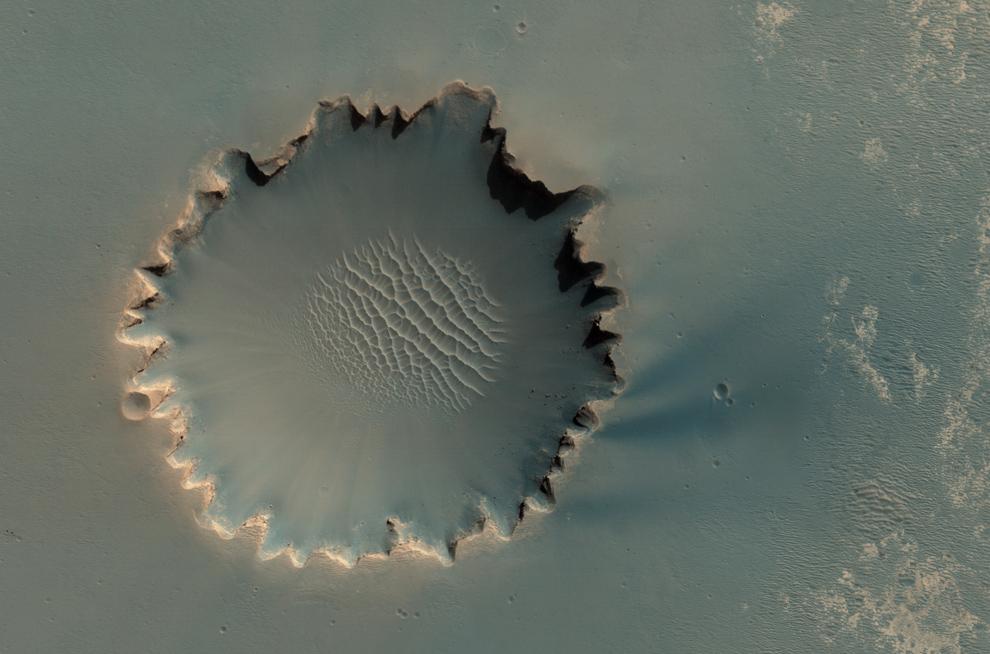 Пейзажи Марса. Выпуск 1 (15 фото)