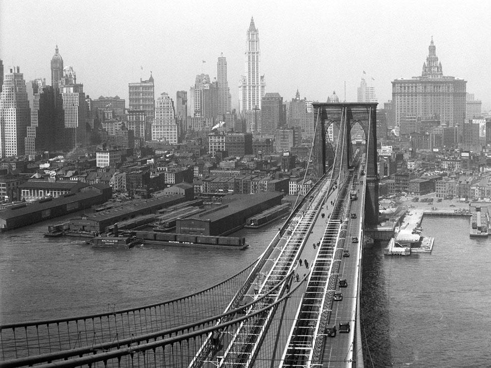Исторические снимки Нью-Йорка из городского архива. Выпуск 2 (20 фото)