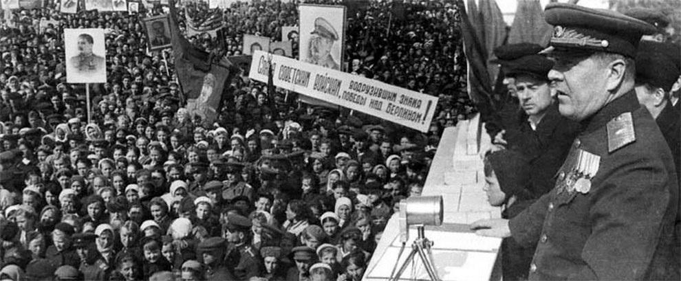 День Победы! Как это было в 1945 году (25 фото) — SuperCoolPics