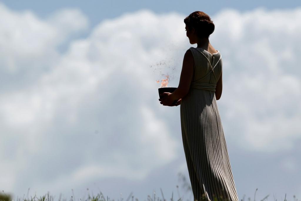 Церемония зажжения Олимпийского огня 2012 (15 фото)