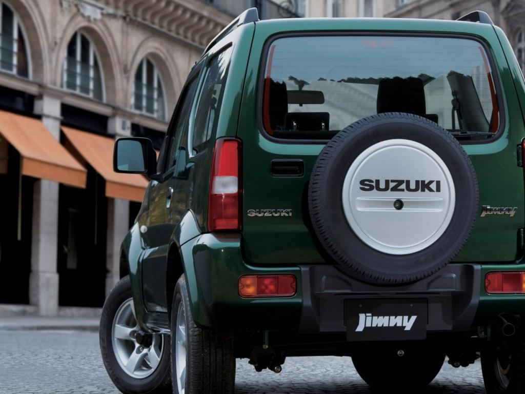 Jimny от Suzuki в новом обличье (22 фото) » Suzuki