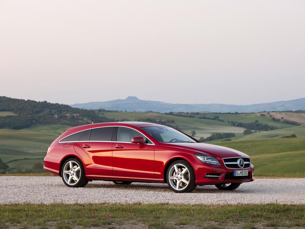 CLS Shooting Brake от Mercedes: Стильный спортивный универсал (16 фото)