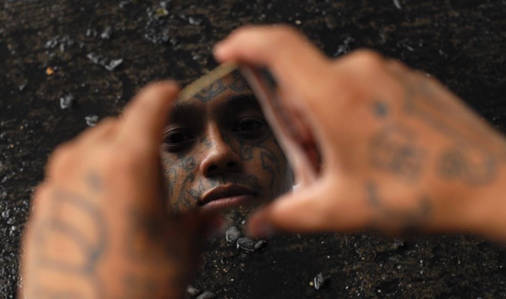 Бандитский Сальвадор: «Мара Сальватруча» и «Калье 18» (30 фото)