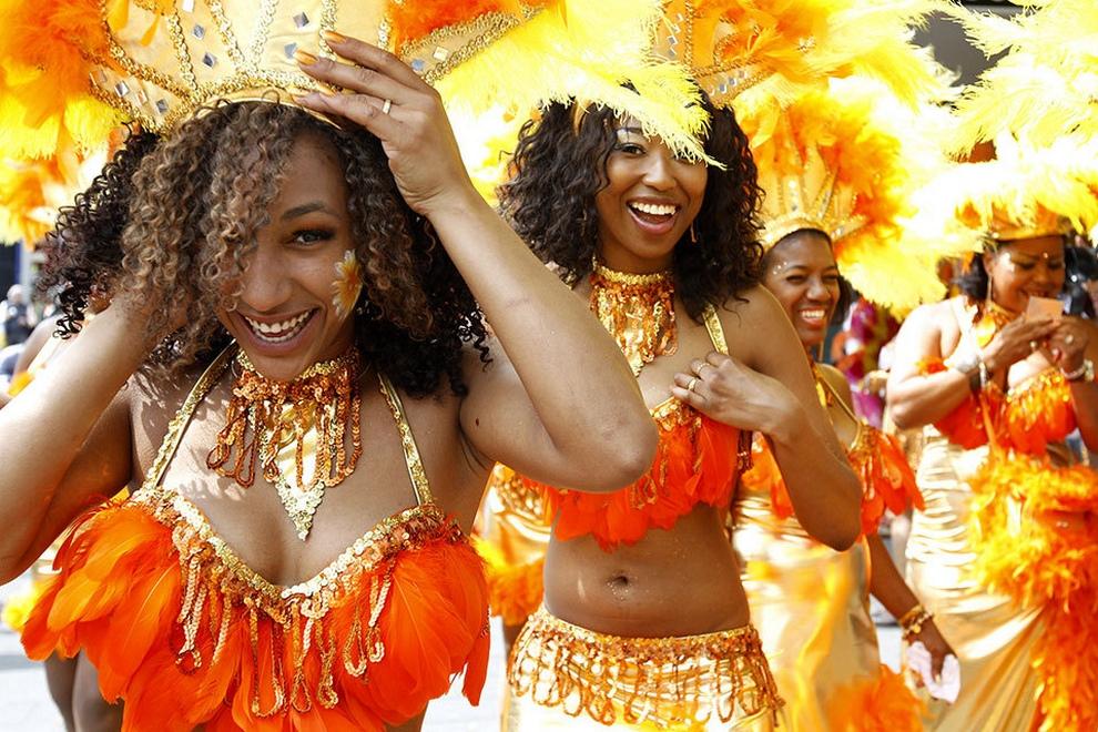Летний Карибский карнавал в Роттердаме (12 фото)