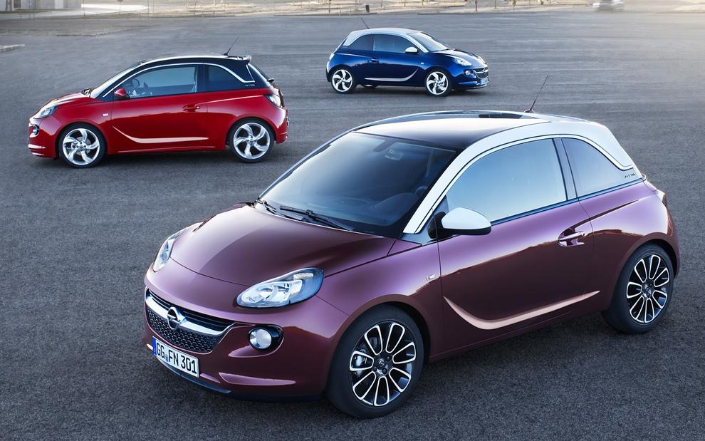 Opel Adam: Маленький индивидуалист (12 фото)