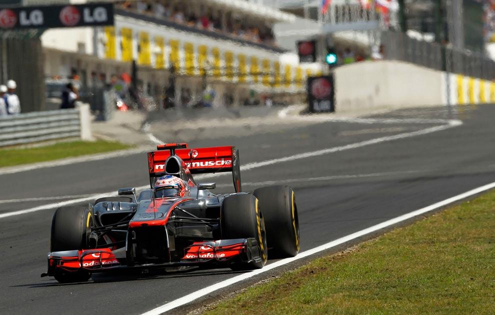 Гран-при Венгрии. (Vodafone McLaren Mercedes)
