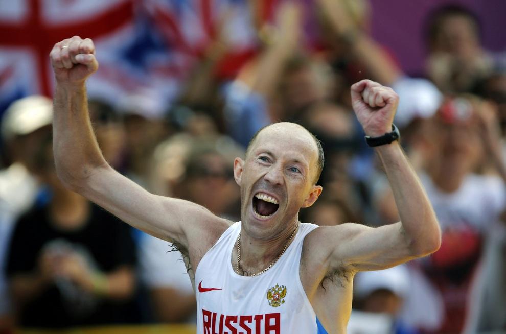 Дневник Олимпиады-2012, день пятнадцатый: Украинский гопак от Александра Усика, золотой «дождь» России (20 фото)