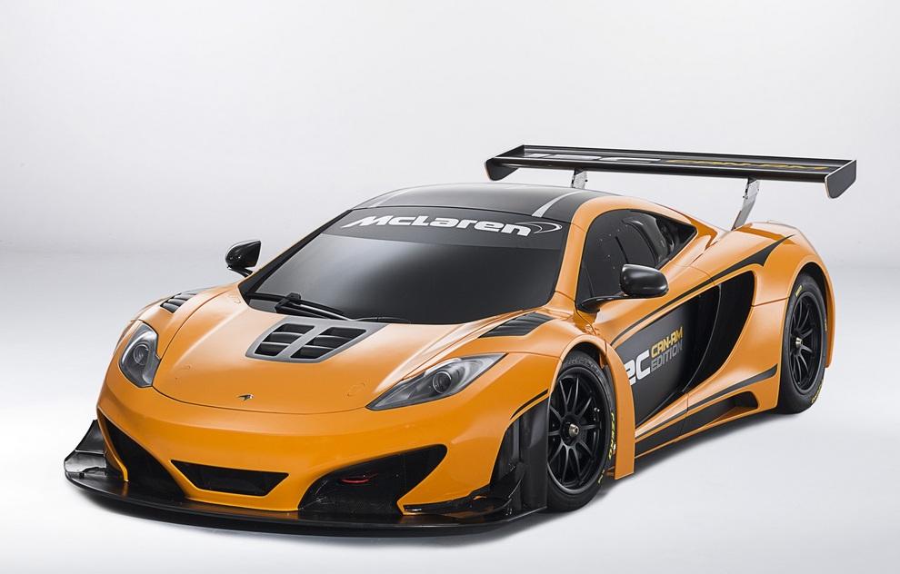 Новый гоночный суперкар от McLaren — MP4-12C Can-Am Edition (16 фото)