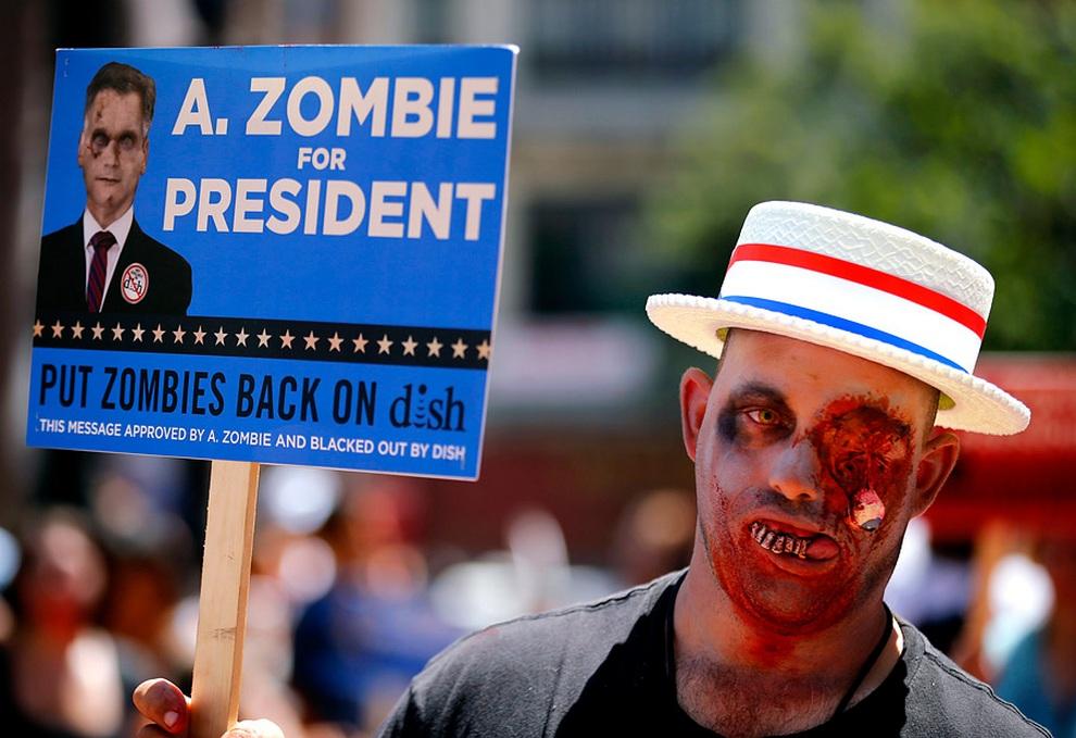«Зомби в президенты!». Секреты маркетинга от AMC Networks. (REUTERS/Mike Blake)