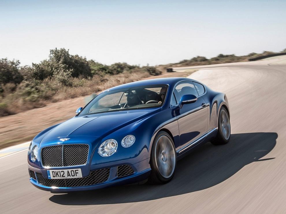 Bentley Continental GT Speed: Игра на скорость (15 фото)