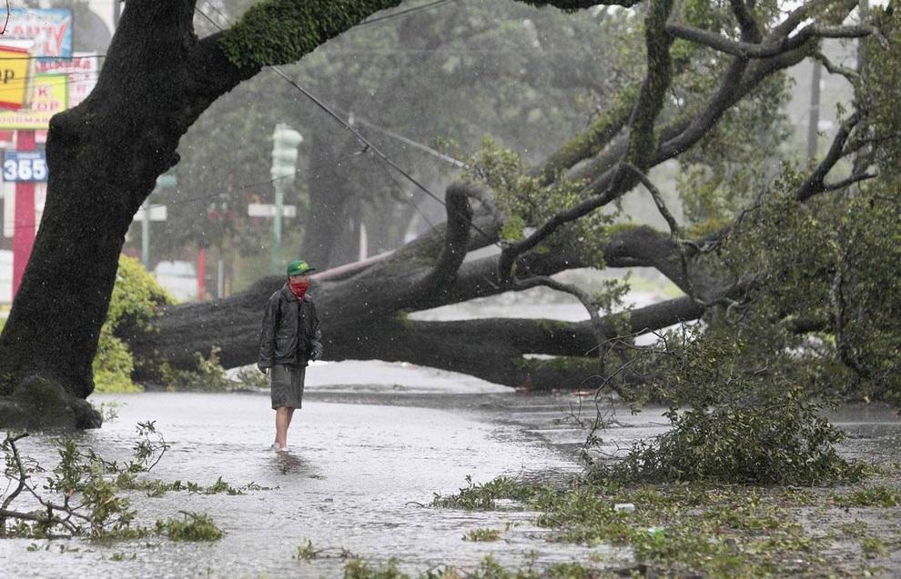 Новый Орлеан под ударом «Айзека» (20 фото)