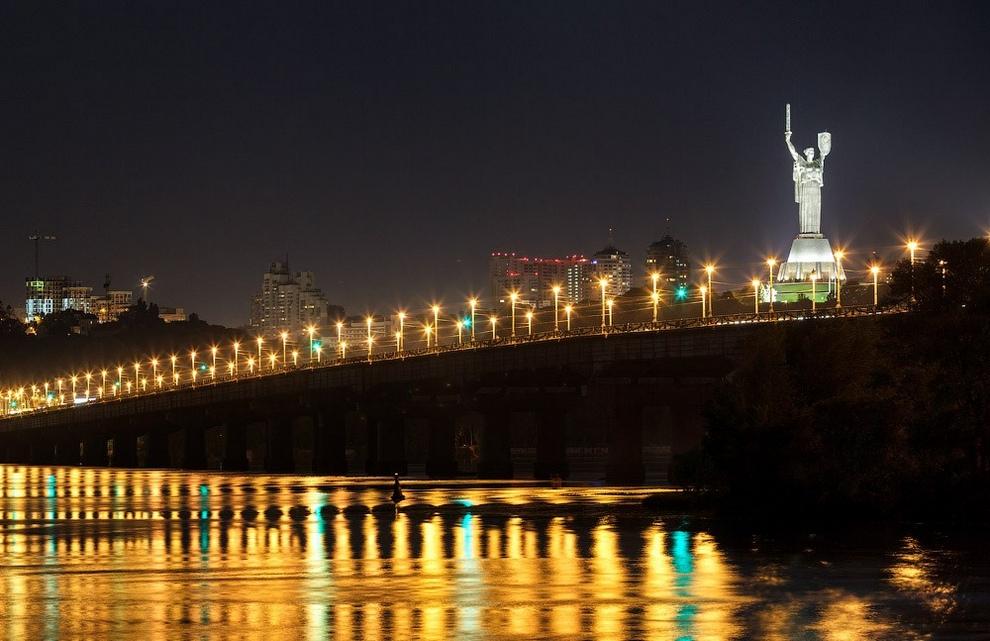 Киевские мосты: История и фотографии (11 фото)