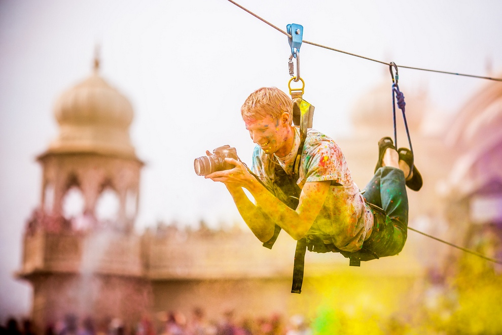 Празднование фестиваля красок в Юте (30 фото)