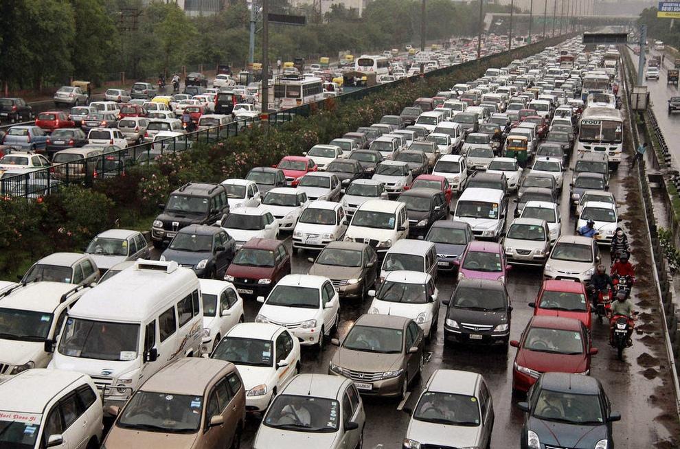 Электрический апокалипсис в Индии (20 фото)