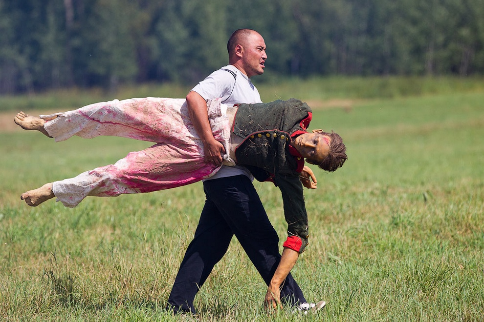 Фоторепортаж с места съемок нового документально-художественного фильма Алексея Пивоварова (25 фото)