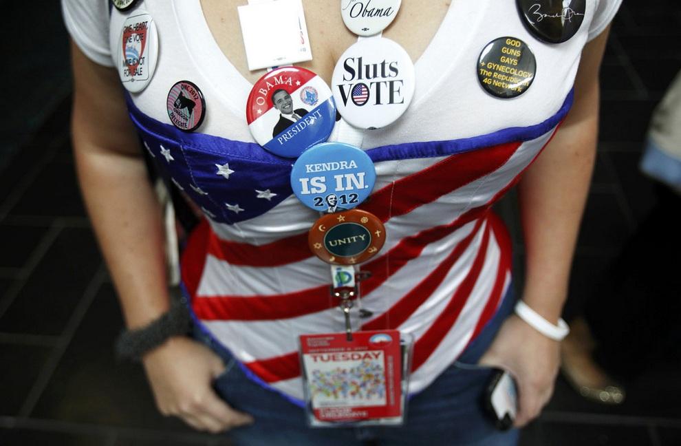 Национальный съезд Демократической партии США (18 фото)