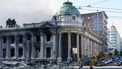 Землетрясение в Сан-Франциско 1906 года: Тогда и сейчас (25 фото)