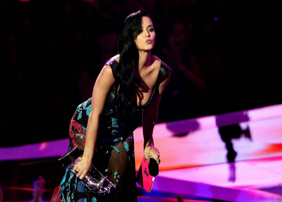 Кэти Перри. MTV Music Video Awards 2012. (Matt Sayles/Invision/AP)