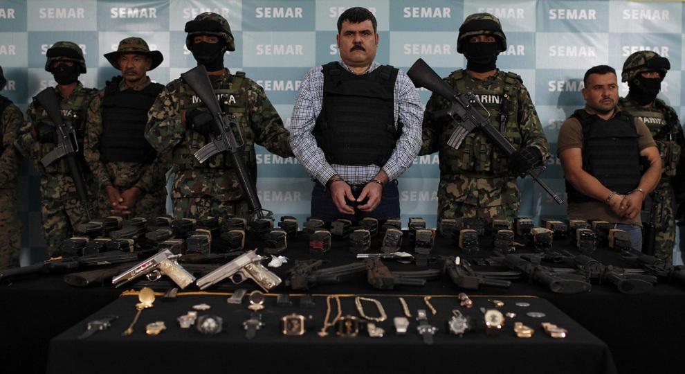 Арест одного из самых опасных наркобаронов мира (4 фото)