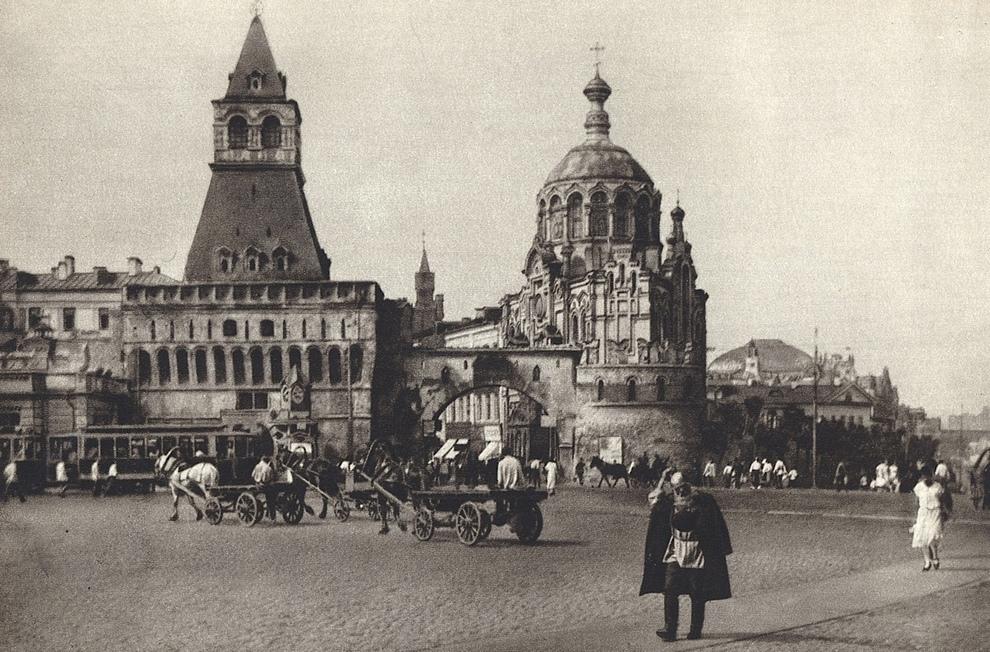 Архивные фотографии Москвы 1920-х годов (20 фото)