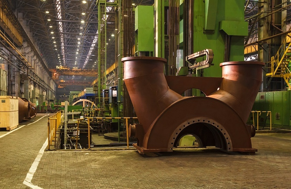 Экскурсия на Ленинградский металлический завод (20 фото)