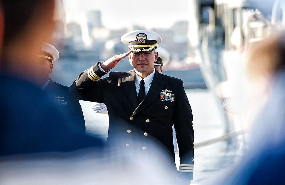 Дружественный визит фрегата USS Vandegrift во Владивосток (24 фото)