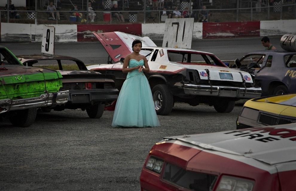 Безумные гонки на «Агассис Спидвей», Агассис, Британская Колумбия, Канада. (REUTERS/Andy Clark)