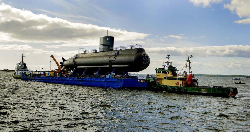 нэккен подводная лодка