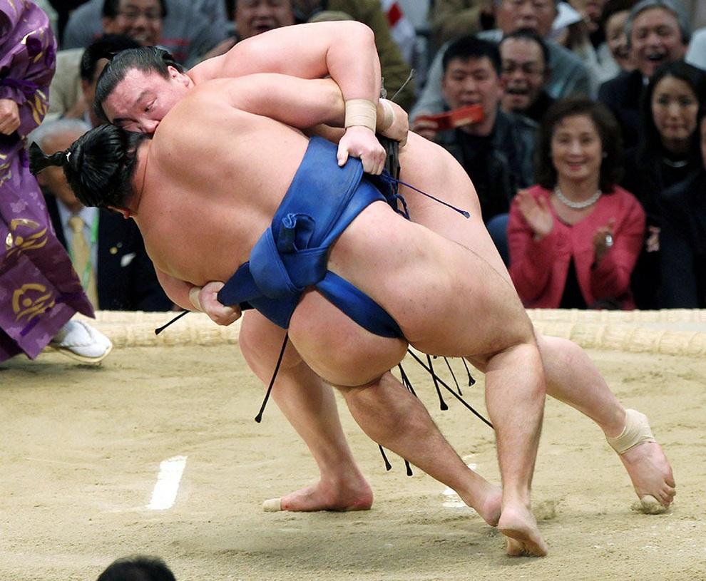 сумоисты японии фото трудовой