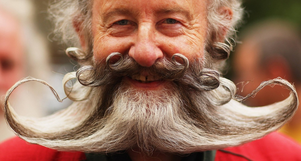 Чемпионат Европы по бороде и усам (15 фото)
