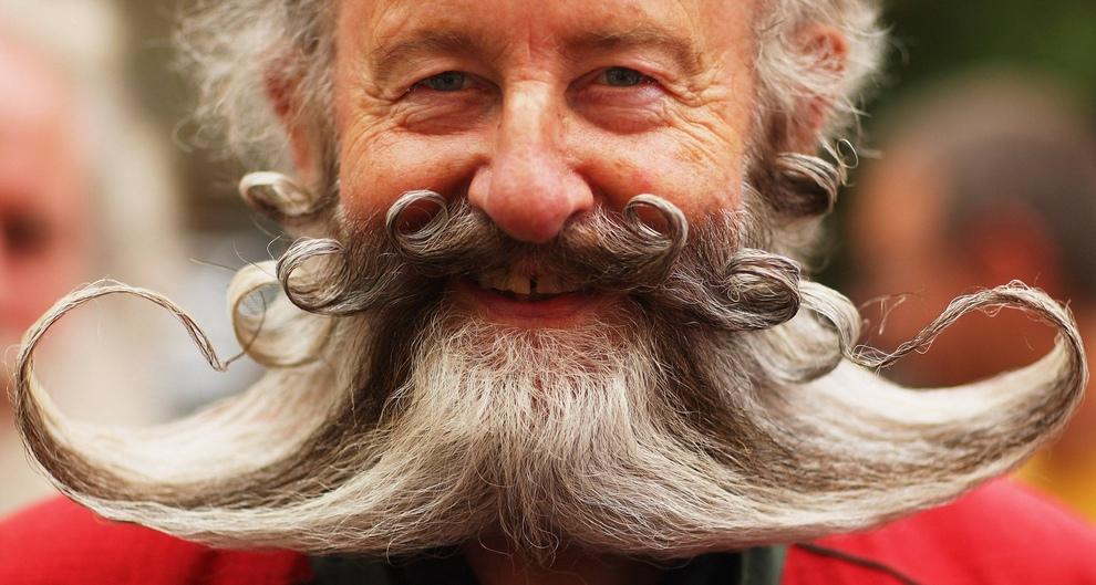 Чемпионат Европы по бороде и усам (Daniel Berehulak/Getty Images)