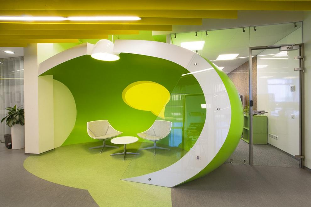 Новый офис «Яндекса» в Санкт-Петербурге (30 фото)