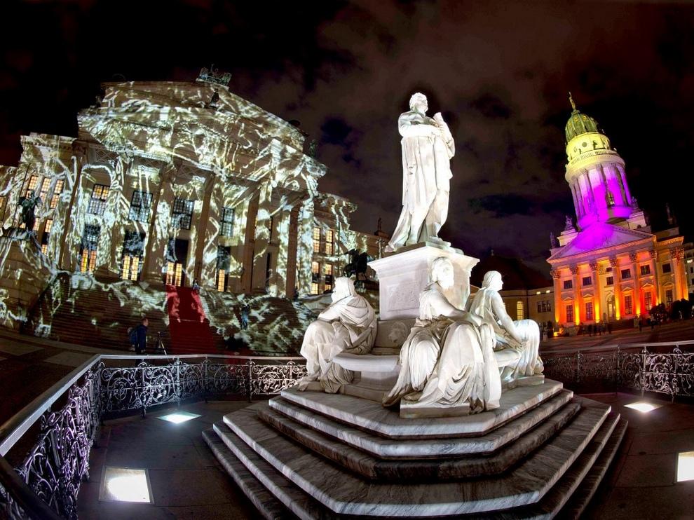 «Фестиваль огней» в Берлине (11 фото)
