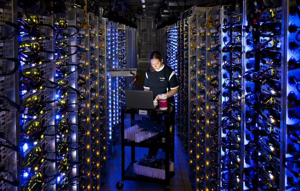Data centers: Where the Internet Lives. (Google)
