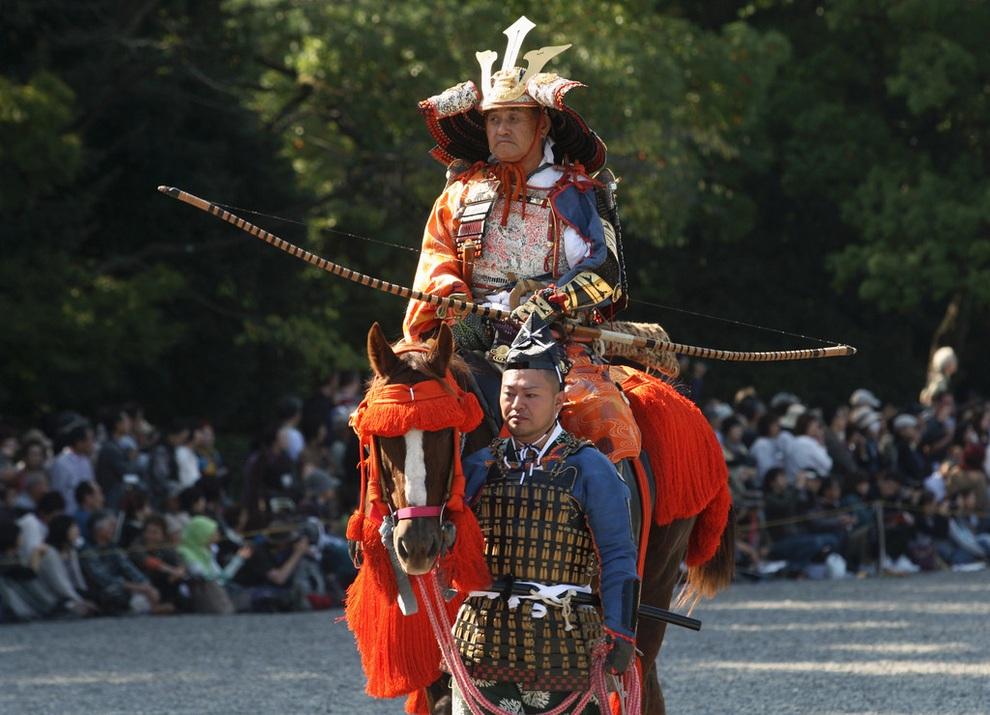 Праздник эпох в Киото (13 фото)