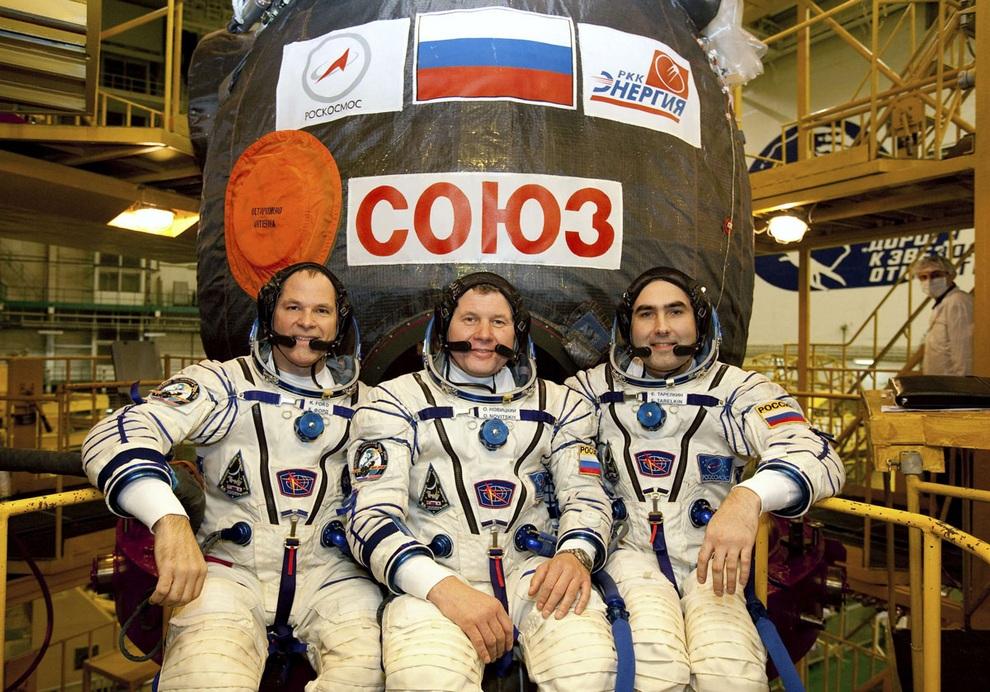 Новый экипаж отправился на МКС (20 фото + видео)