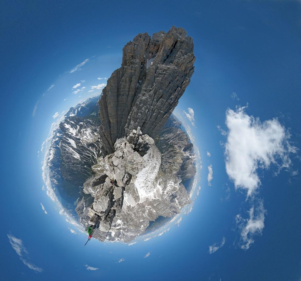Панорамы-планеты Дэна Аркла (12 фото)